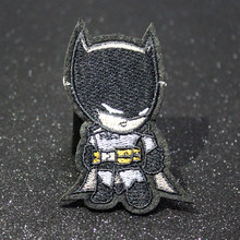 Cartoon Avengers Patch On Clothes Iron On Batman Patches Iron Man Appliques Stripe Marvel Embroidery Patches For Clothing Badges(China)