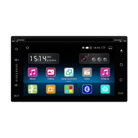 Android Car DVD Radio Stereo Player 6.2 inch Capacitive Touch Screen GPS Navigation Bluetooth USB SD 1G DDR3 16G Memory Flash
