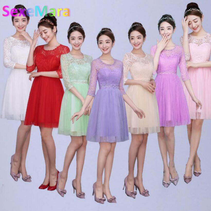 Compare Prices on Short Bridesmaid Dresses under 30- Online ...