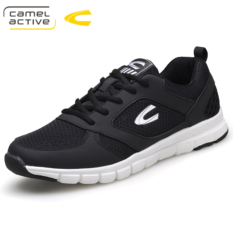 Camel Active Spring Autumn Men'S Fashion Casual Shoes Male Air Mesh Breathable Men Adult Comfortable Cushioning Flat Sneakers