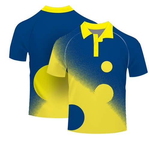 Custom Design Color Combination T Shirt Sublimation Polo Shirt