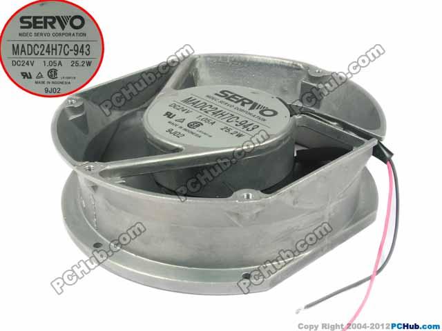 Emacro Für Servo MADC24H7C-943 DC 24 V 1.05A 2-draht 172X172X51mm Server Kühler Fan