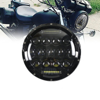 TNOOG 7 Inch LED Headlight DRL Hi/Lo Beam For Harley Davidson Breakout Deluxe for Fatboy V Star Sportster Iron Softail
