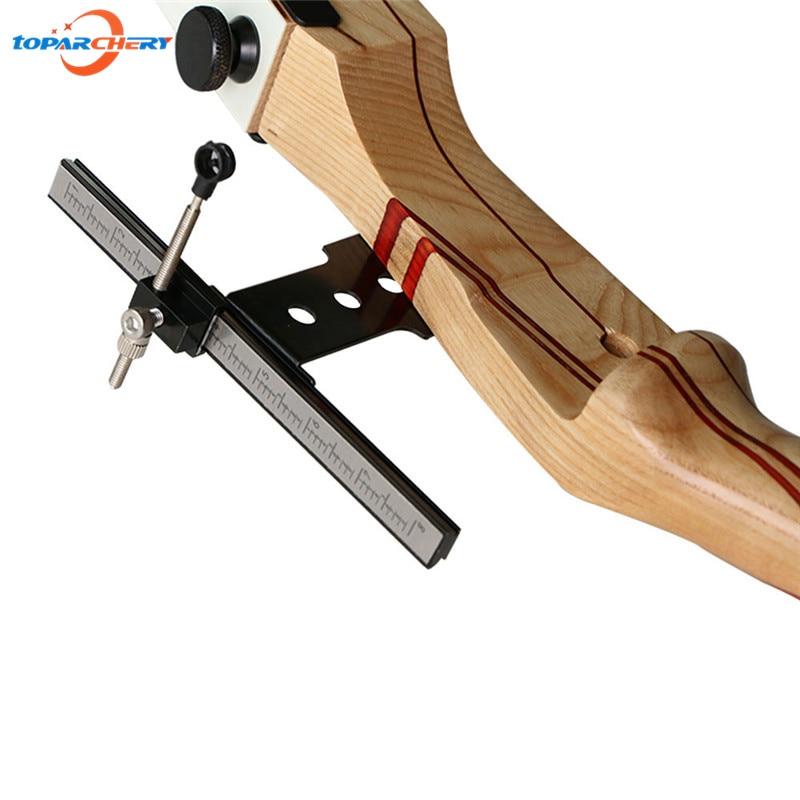 Aço inoxidável arco vista para tiro com arco recurvo estilingue caça tiro ao alvo jogos acessórios arco vista