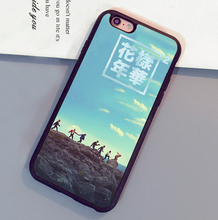 Bangtan Boys BTS Printed Mobile Phone Cases Accessories For iPhone 6 6S Plus 7 7 Plus 5 5S 5C SE 4S Soft Rubber Cover Shell