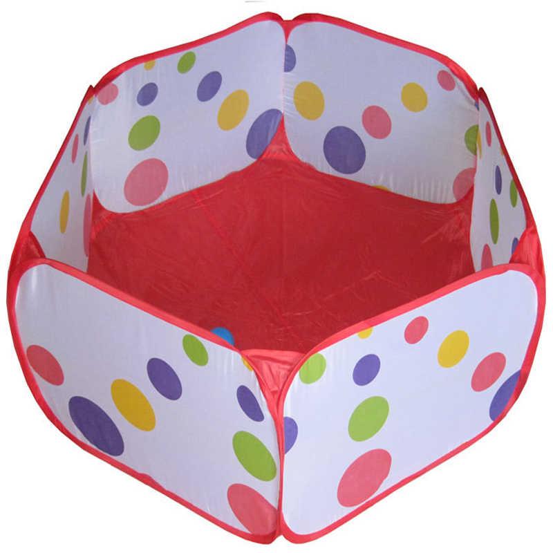 120 CM Taşınabilir Katlanabilir oyun çadırları Çocuk Çocuk Bebek okyanus top Pit Havuzu Oyun Evi Oyun Çadırı/Açık Oyuncaklar çocuklar
