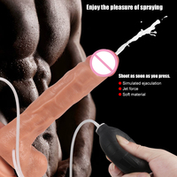 Huge Realistic Faloimitator Ejaculating Dildo Anal Best Squirting Dildo Adults Sex Toys For Woman Couple Suction Cup Didlo Dick