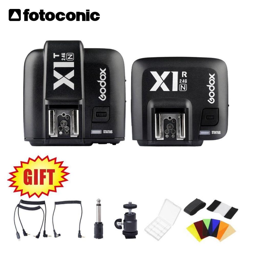 Godox X1N TTL 2.4 G Wireless Transmitter & Receiver Flash Trigger for Nikon D800 D3X D3 D2X D2H D1H D1X D700 D300 D200 D100 цена