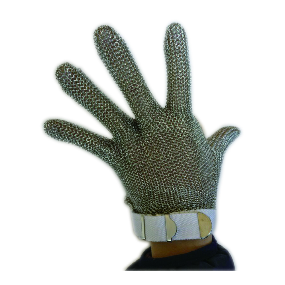 Steel ring stainless steel glove butcher Cut resistant gloves level 5 work chain mail armor top quality 304l stainless steel mesh knife cut resistant chain mail protective glove for kitchen butcher working safety
