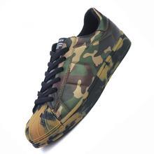 Superestrellas de otoño, Zapatos Ocasionales de Los Amantes Zapatos Chaussure Homme Hombres Coreanos Ultra Aumenta Zapatos Hombre Verde Del Ejército