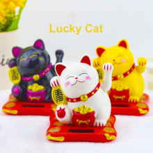 Fortune Cat Waving Cat Ornament Checkout Counter Decor Shaki