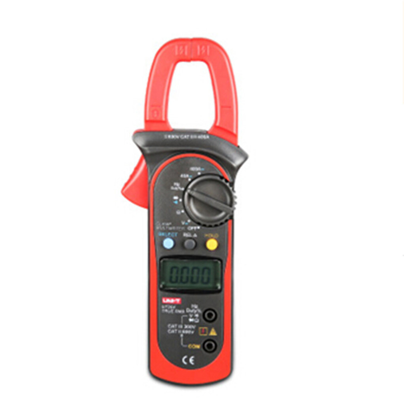 UNI-T Digital Clamp Multimeter UT203 current clamp ac dc 3999 Count 400a voltage Resistance tester LCD Auto-Range clamp meter uni t ut203 ut 203 digital clamp multimeter 3 3 4 ohm dmm dc ac current voltmeter 40a 400a