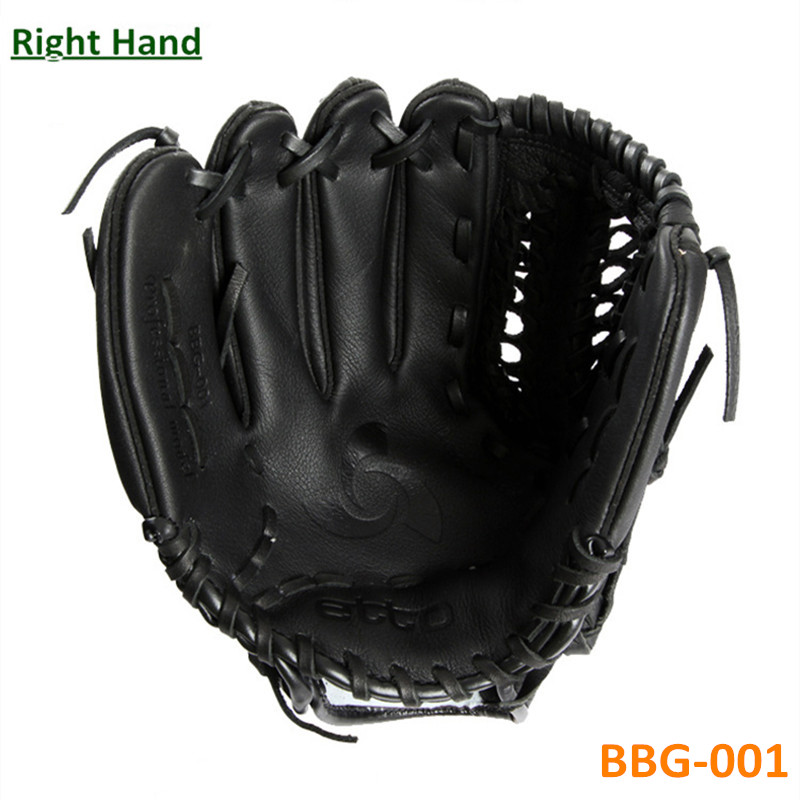 ФОТО New Top Quality Leather Material Male Professional Baseball Game Gloves Right Hand Player 11.5 12.75