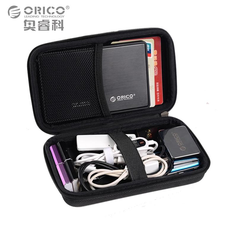 Orico 2.5 pulgadas bolsa de almacenamiento para 2.5 pulgadas hdd ssd usb cables
