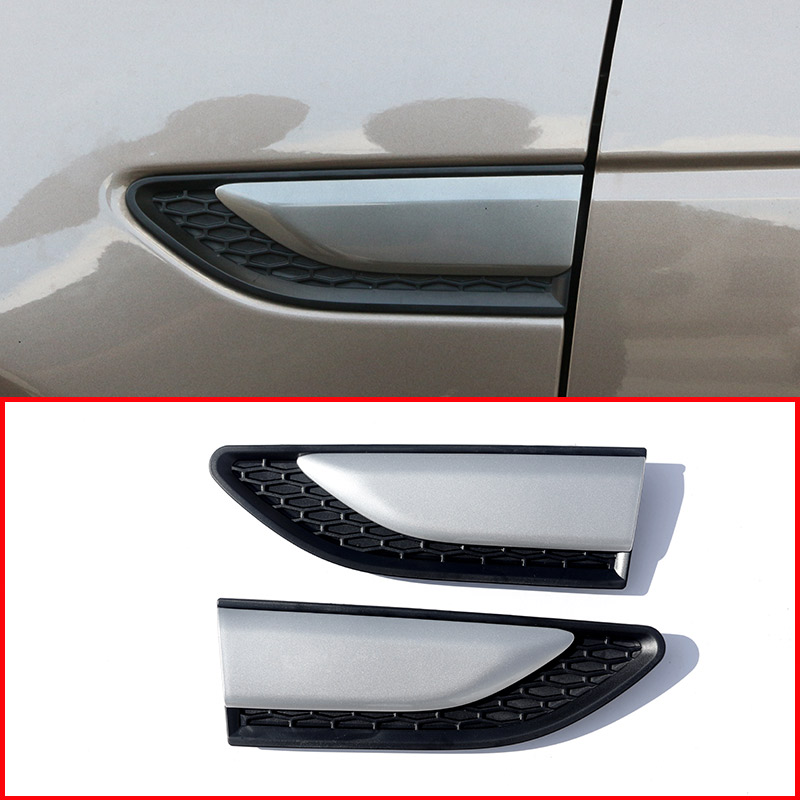 For Land Rover Discovery Sport 2015 2018 ABS Car Fender Body Side Air Vent Cover Trim