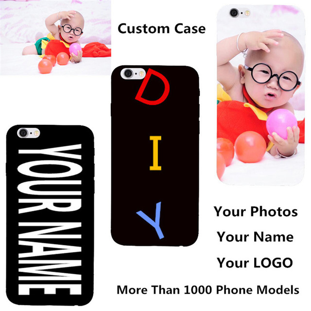 Custom DIY Name Photo Personalized Cover For Oneplus One Plus 5 3 3T A3003 Oneplus X E1001 E1003 2 Printed Text Phone Back Case