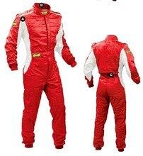 Личность яркий автомобиль OMP F1/kart racing костюм и белый свет пятна дрейф гоночный автомобиль