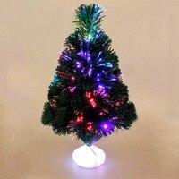 45センチ光学繊維カラーライトエミュレートクリスマスツリーled発光変色led人工クリスマスツリークリスマスの装飾