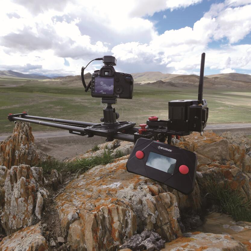 IFootage беспроводной моторизованный timelapse одной оси Системы s1a1 для Акула слайдер S1 видеокамеры Долли ползунок DSLR трек DSLR