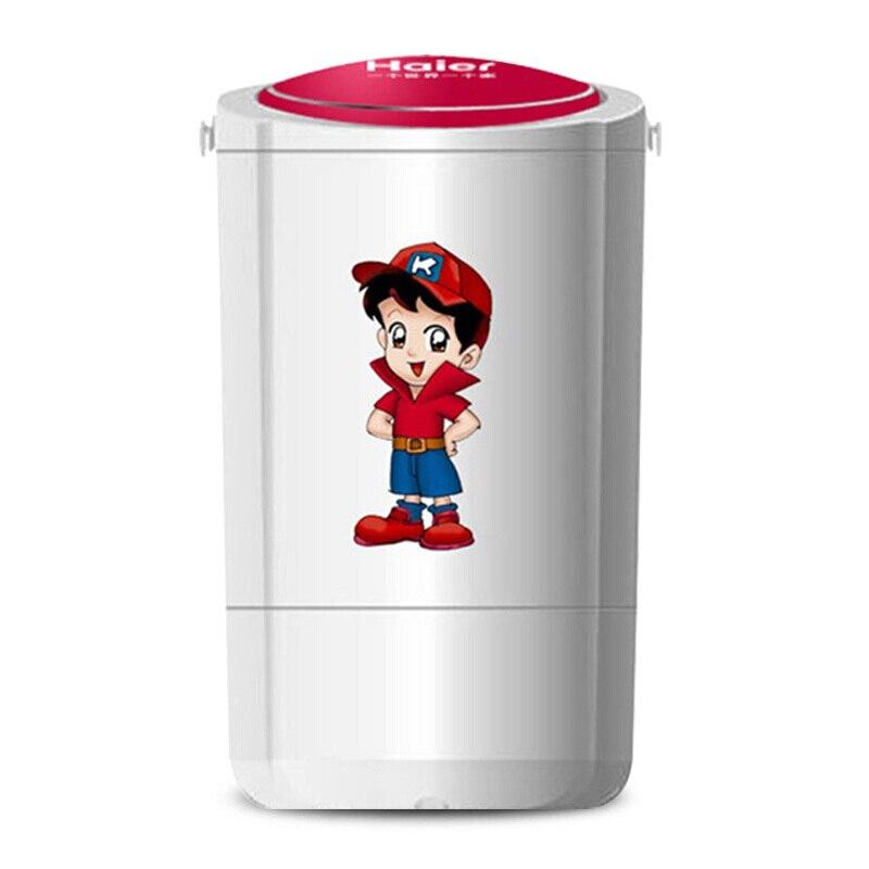 2019 Neuestes Design Tragbare Waschmaschine Einzigen-barrel Baby Voll-automatische Rad Hause Kleine Mini Waschmaschine Weiß Mini Barril