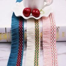 10 ярдов/партия Этническая кисточка бахрома красочная кисточка отделка для одежды шляпы сумки обувь Diy Hairband украшения Diy Швейные материалы