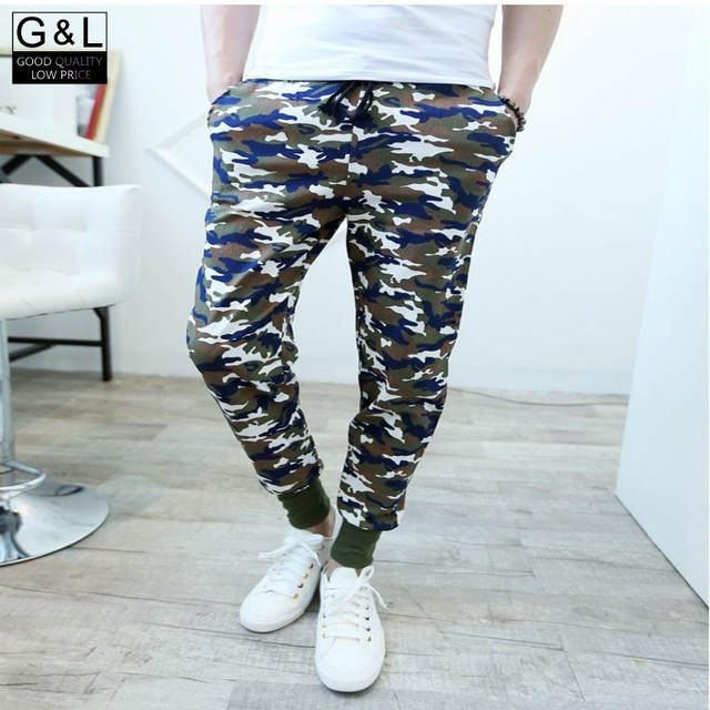 New New Arrival High Quality Top Brand Camo Mens Harem Pants Slacks Sweatpants Casual Trousers Pants For Men Male Colors