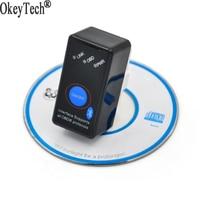 Super Mini ELM327 Bluetooth Power Switch ELM 327 OBD2 Diagnostic Tool OBD Ii Automotive Scanner For