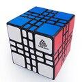 WitEden Cubo Mágico 4x4x4 Mixup Além do Preto Velocidade Enigma Twisty Brinquedos Educativos para Crianças e Speedcubers Venda quente