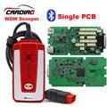 Solo tablero verde WOVV TCS TCS pro 5.008R2 con tarjeta de 4 GB SD PRO Con bluetooth con VIVIENDA + TCS escáner