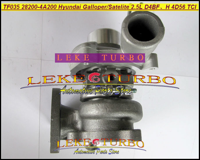 Free Ship TF035 49135 02110 49135 04020 28200 4A200 28200 4A200 Turbo For HYUNDAI Gallopper For