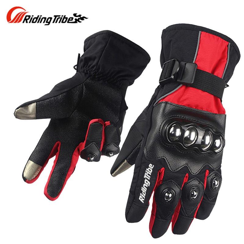 Winter Screen Touch Motorcycle gloves Luva Motoqueiro Guantes Moto Luvas de moto Skiing Motocross gloves HX0432 Gants Moto