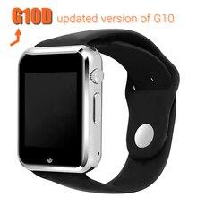 2016บลูทูธsmart watch g10dนาฬิกาข้อมือกีฬาpedometer r eloj con mtk6261dซิมการ์ดinteligenteสำหรับโทรศัพท์android