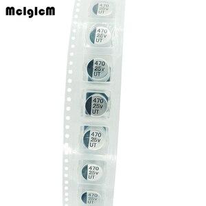 Image 2 - MCIGICM 500 pièces 470UF 25V 10mm * 10.2mm condensateur électrolytique en aluminium SMD