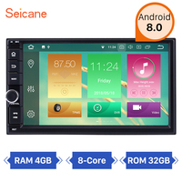 Seicane Universal 7 Inch Android 8.1/8.0 Navigation Video Stereo for NISSAN TOYOTA KIA Support Steering Wheel Control USB WIFI