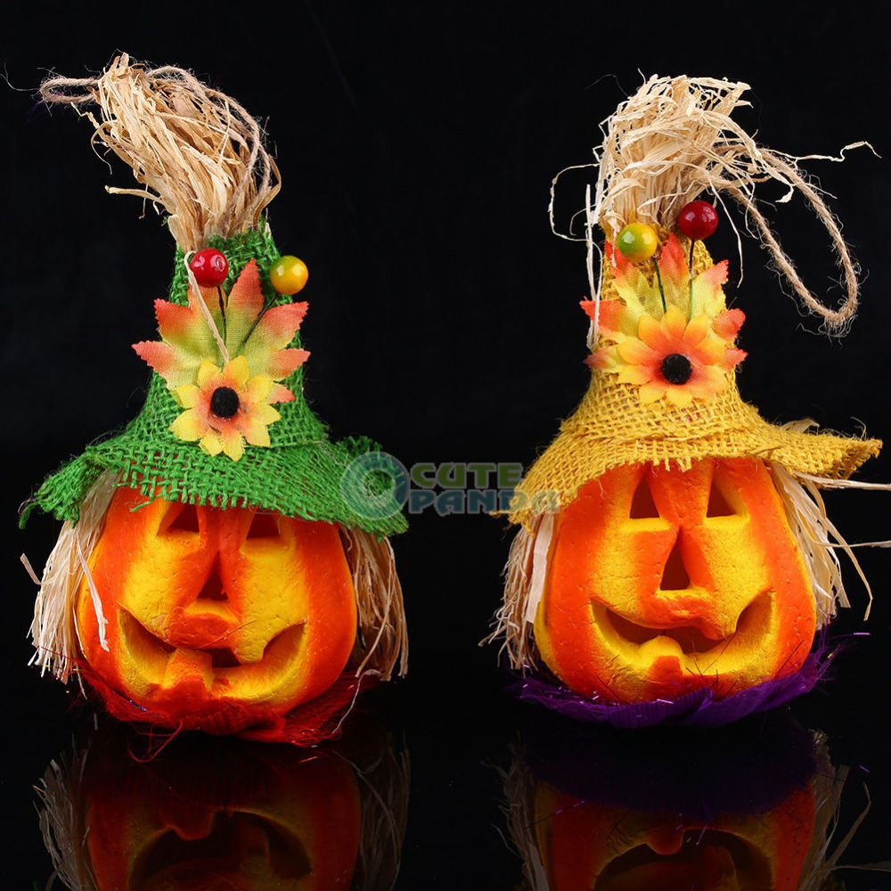 Lighting Pumbkin Halloween Party Decoration Haunted House