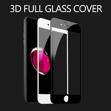 3D Curved Edge Full Tempered Glass For iPhone 6 6s Plus Full Cover Protective Premium Screen Protector For iphone 7 7 plus