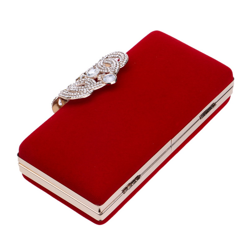 Mini Clutch Evening Purse Rhinestone Bags (TCC06)
