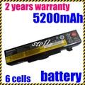 Jigu nueva 6 celdas de batería del ordenador portátil para lenovo g580 y580 v480 z380 g480 y480 l11s6y01 l11l6y01 l11o6y01 l11s6f01