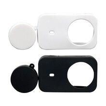Silizium Weichen Fall Mit Schutzhülle Objektiv Abdeckung Cap Für Xiaomi Mijia Kamera 4K