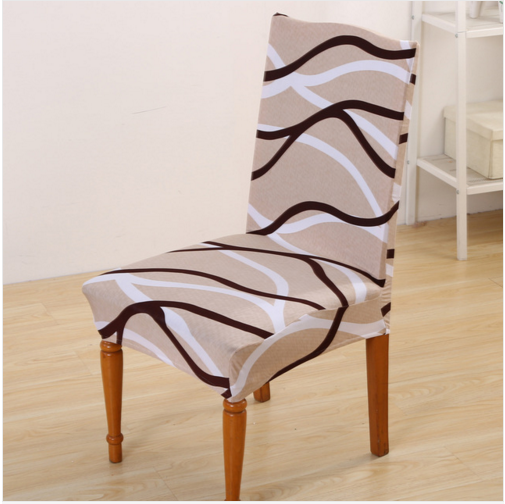 Europe style Universal chair covers spandex cubresillas super elastic fundas silla dining chair seat cover