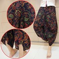 Plus Size Mens Womens Gypsy Hippie Aladdin Baggy Indian Harem Pants Women Trousers Boho  Casual Nepal Mens Trousers