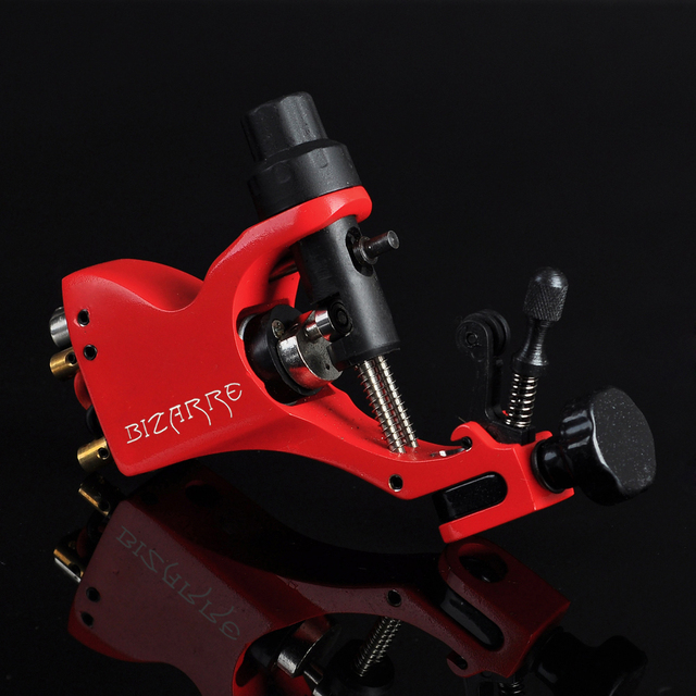Hot Sale Stigma Bizarre V2 Rotary Tattoo Machine Stigma Swiss Motor Shader Liner clip cord For Tattoo Supply Free Shipping