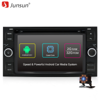 Junsun 7 Autoradio 2 Din Android Car DVD Player Joying For Ford Focus 2005 2006 2007
