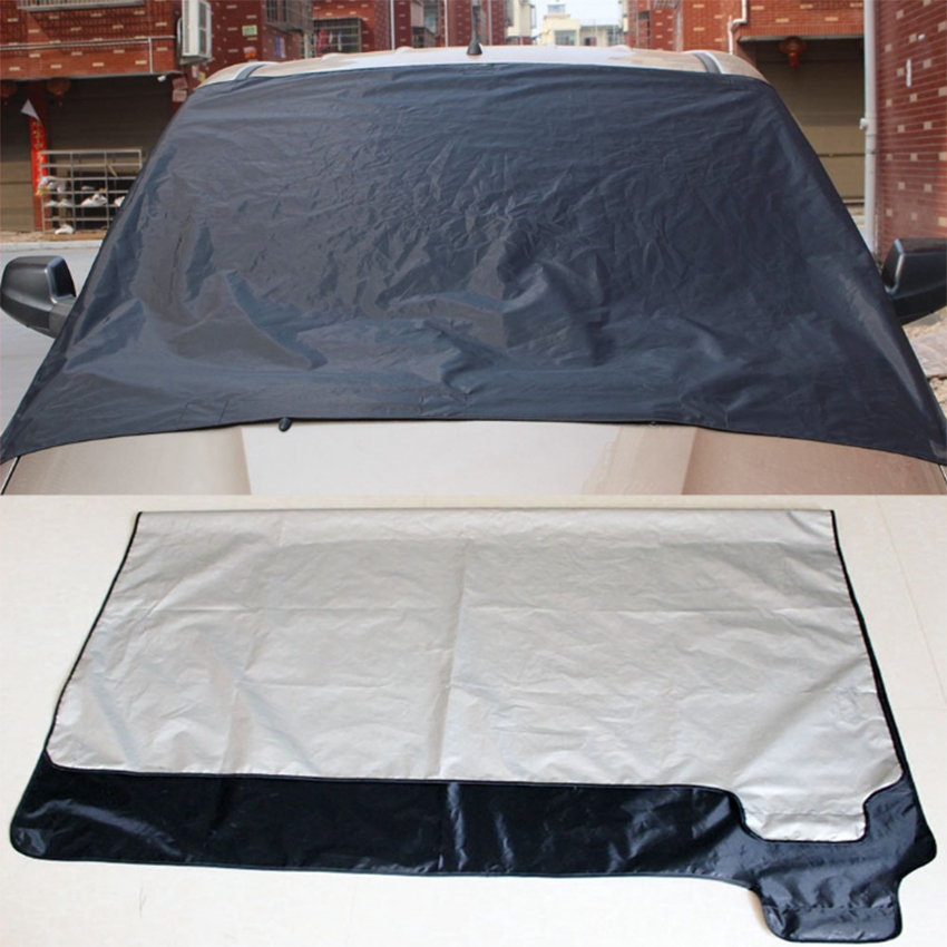 MAGNETIC CAR WINDSCREEN ICE COVER FROST SHIELD PROTECTOR FITS AUDI Q7 4X4