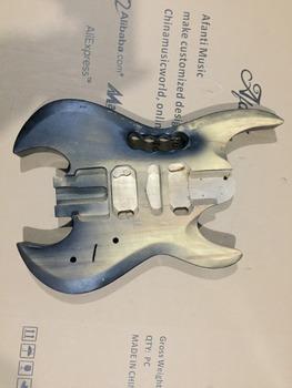 Afanti Music gitara elektryczna DIY korpus gitary elektrycznej (ADK-706) tanie i dobre opinie Beginner Unisex Do profesjonalnych wykonań Nauka w domu LIPA Drewno z Brazylii None Electric guitar Electric guitar body