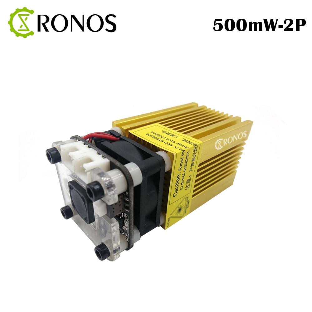 405nm-500mw Gold Module Laser DI Messa A Fuoco Blue Laser Incisione Laser Testa,0.5W Tubo Del Laser Diode 2p Port