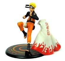 Free Shipping 17 cm Uzumaki Naruto Model Action Figure PVC Anime Naruto Dolls Toys For Boys