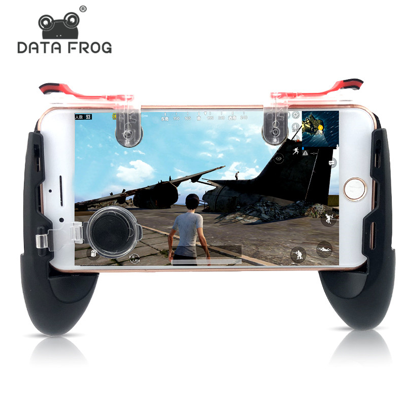 Data Frog Pubg Game Gamepad For Mobile Phone Game Controller Shooter