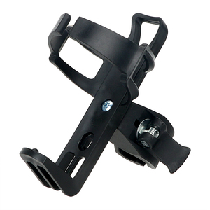 Image 4 - Motorcycle Bike Drink Holder Bicycle Cup Holder Water Bottle Coffee Clip Mount Stand Car styling Outdoor Sports