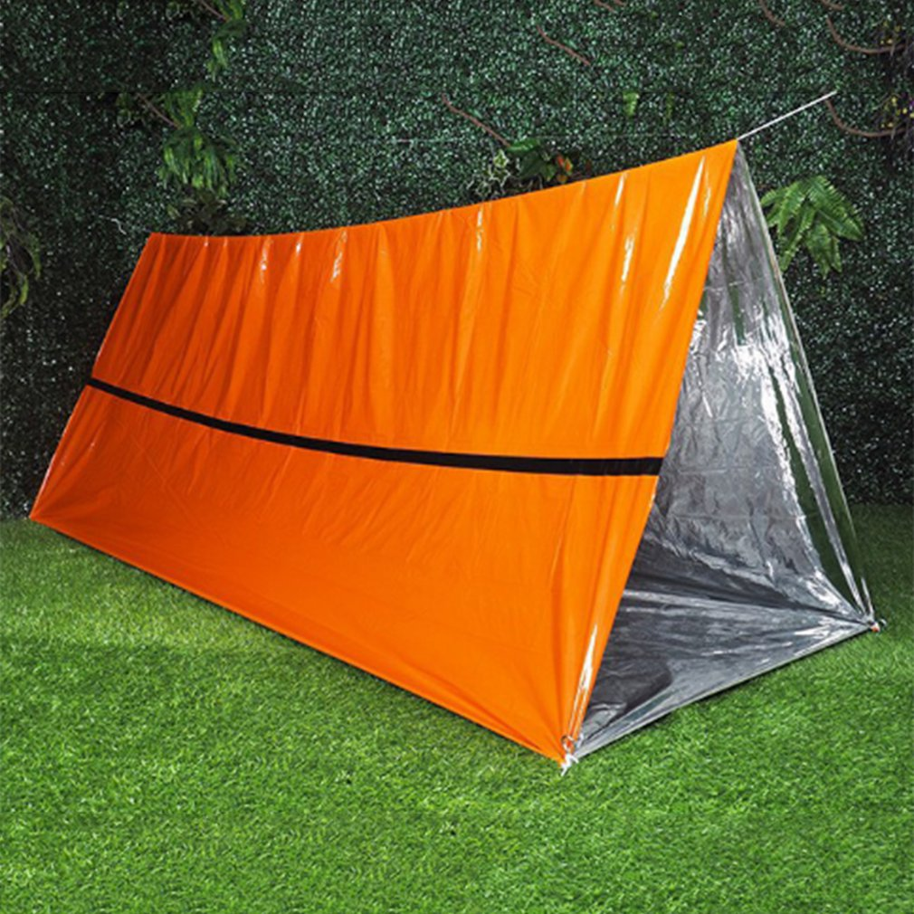 First Aid Warm Portable Rescue Tent Emergency Marathon Survival Blanket